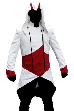 Assassins Creed Kenway Red and White Jacket