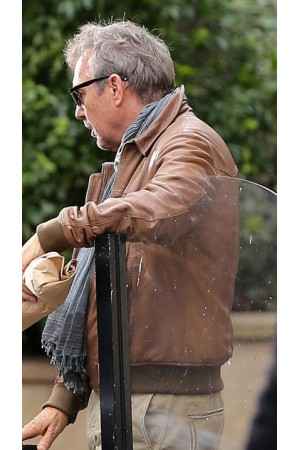 3 Days to Kill Ethan Renner Leather Jacket
