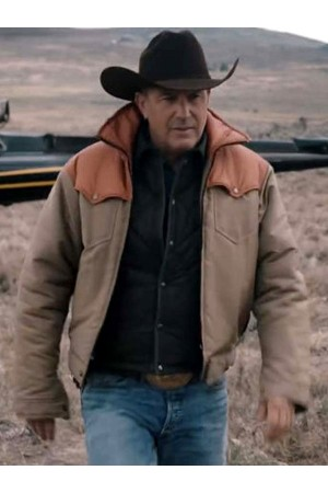 Kevin Costner Yellowstone John Dutton Jacket